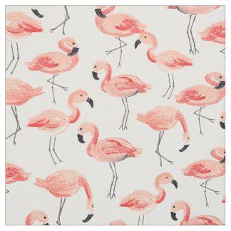 flamingo upholstery fabric flamingo fabric zazzle