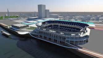 news on st louis rams nfl a rendering released of a proposed new stadium for
