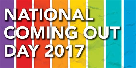 new coming out day national coming out day 2017 the rainbow times new