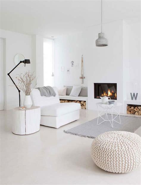 idee per arredare soggiorno moderno idee per arredare un soggiorno bianco dal design moderno