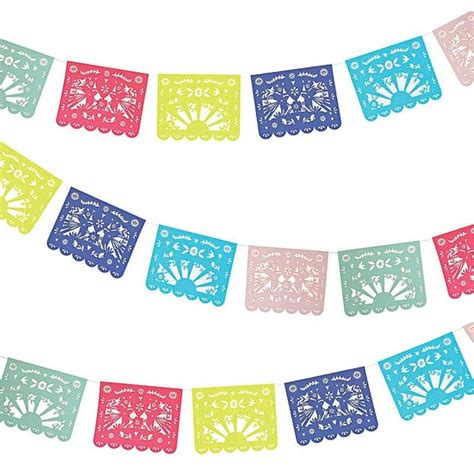 How To Make Mexican Paper Banners - mexican paper flagswritings and papers writings and papers