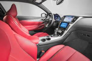 Q60 Interior 2017 Infiniti Q60 First Look Review Motor Trend
