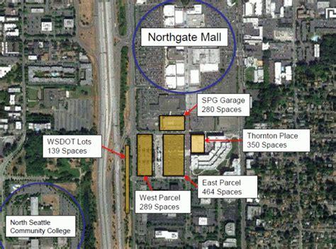 Northgate Parking Garage by Parking Plan For Northgate Light Rail Station Triggers