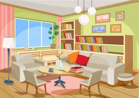 Wohnzimmer Comic by Palm Perspective Vectors Photos And Psd Files Free