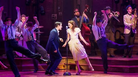 what is a swing in a broadway show bandstand review broadway musical opened april 26 variety