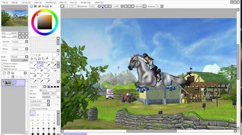 fjord sso speedpaint fjord horse sso youtube