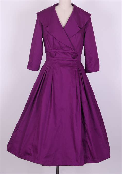 Dress Coat hepburn coat dress eggplant ah3011b ah3011b 163 49