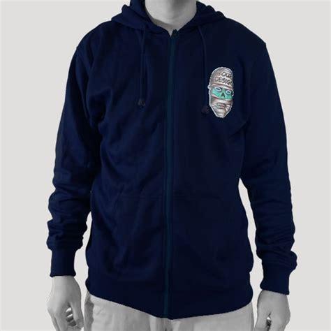 Jaket Hoodie Gojek 4 zipper hoodie 3