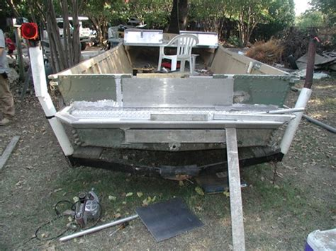 how to strengthen transom on aluminum boat boat hull plan
