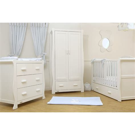 V I B Dax Dlx 3 Piece Room Set Cot Beds Furniture From Cot Bed Nursery Furniture Sets