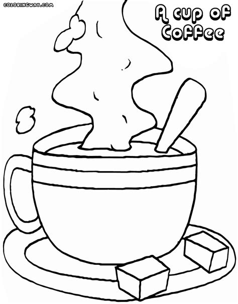 www coloring coffee coloring pages coloring pages to download and print
