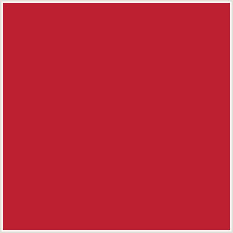 #BD2031 Hex Color   RGB: 189, 32, 49   CARDINAL, RED