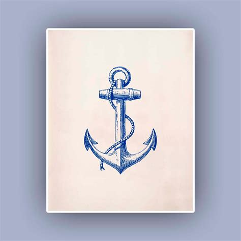 The 25 Best Anchor Print - 9 best images of blue anchor printable blue anchor clip