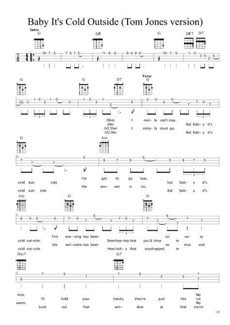 baby shark ukulele tab baby it s cold outside ukulele songs pinterest songs