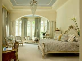 Traditional Bedroom Decorating Ideas by Neutral Traditional Bedroom With Blue Tray Ceiling Hgtv