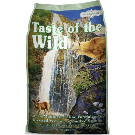 Taste Of The With Roasted 15 Lbs rocky mountain feline formula 5 lbs for cats at lowest price