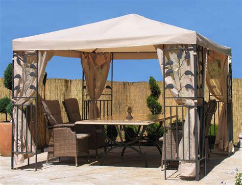Pavillon 3x3m by Dasversandhaus24 De Bl 228 Tter Pavillon 3x3m Sand