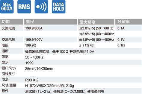 Cl Meter Sanwa Dcl1200r dcm60r 交流 真有效值 钳形电流表 日本三和 sanwa 官网