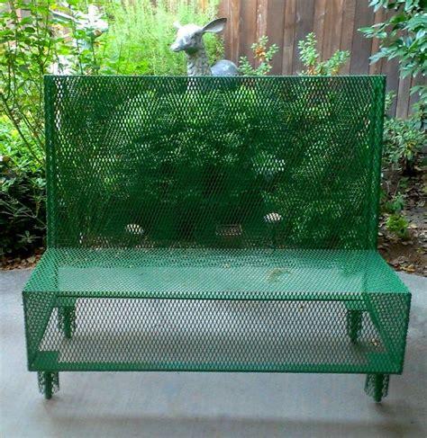 john deere bench 9 best images about outdoor steel furniture on pinterest