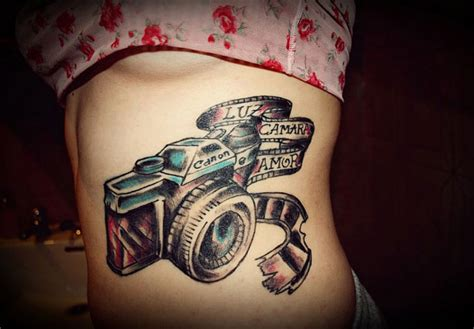 tattoo photographers camera tattoos theme