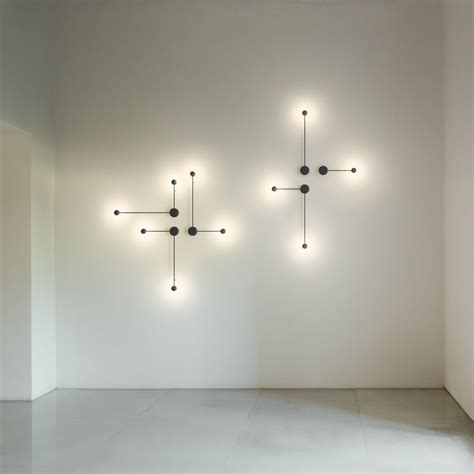 wand led beleuchtung vibia pin wall light by ichiro iwasaki design is this
