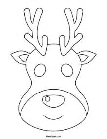 Reindeer Template Printable by 9 Best Images Of Reindeer Free Printable Faces Free