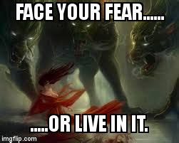 Fear Meme - image tagged in face your fear imgflip