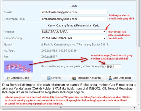 email bpjs kesehatan ghandrix mendaftar bpjs kesehatan mudah dan cepat