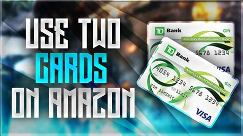 How To Use Two Gift Cards On Amazon - how to use two prepaid gift cards on amazon youtube
