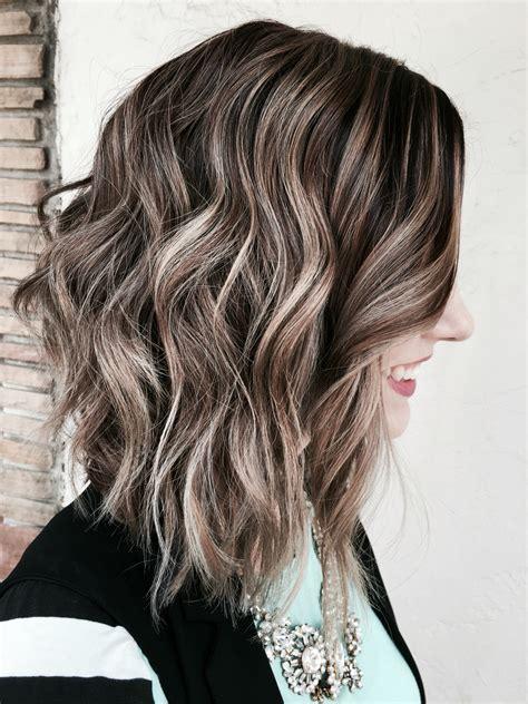 balayage with color ash brown balayage hair hair balayage hair