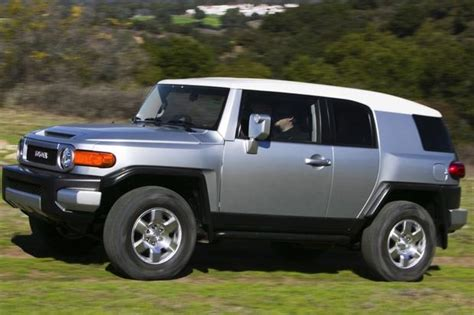 fj cruiser car 2007 2012 toyota fj cruiser used car review autotrader