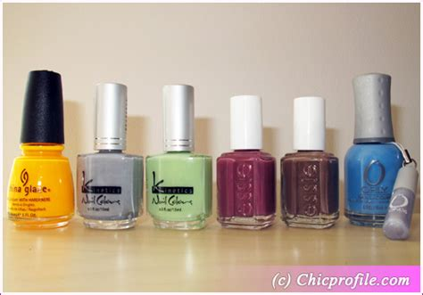 Nail Polish Giveaway - chic giveaway enter to win 6 nail polishes from orly essie kinetics and china glaze