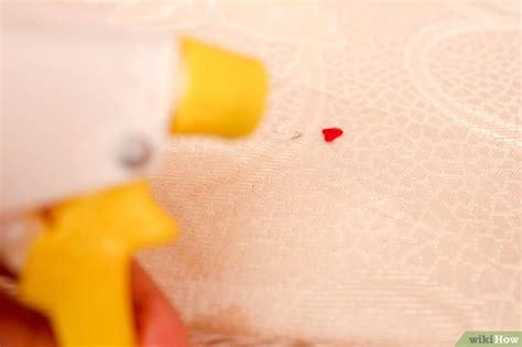blutflecken aus matratze entfernen blutflecken aus einer matratze entfernen wikihow