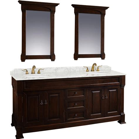 Cherry Vanity by 80 Quot Andover Sink Vanity Cherry Bathgems