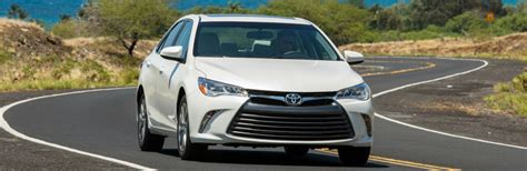 Toyota Camry Gas Milage 2017 Toyota Camry Fuel Economy Ratings
