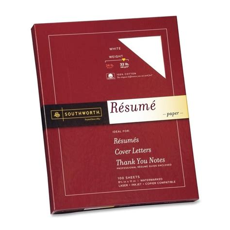 southworth 100 cotton linen resume paper set of 100