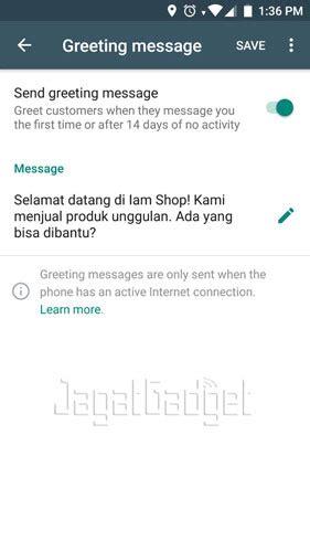 Percakapan Konsumen menjajal whatsapp business apa bedanya dengan whatsapp standar jagat gadget
