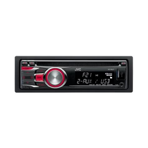 Jvc Car Stereo With Usb Port by Jvc Kd R421 Front Usb Port Front Aux Input Cd Mp3 Radio