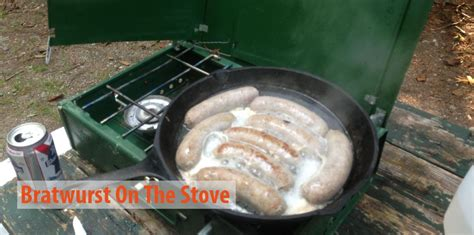 bratwurst how to cook how to cook bratwurst on the stove a step by step guide