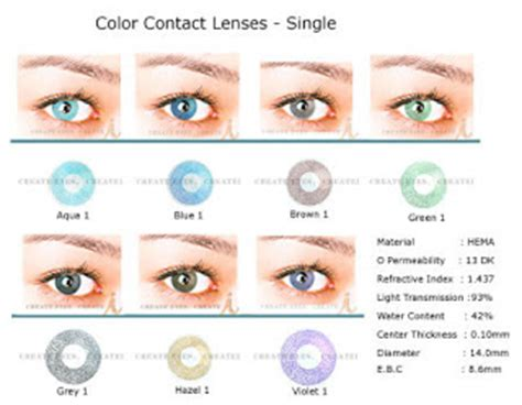 prescription colored contacts for astigmatism color contacts guide why choose colored contact lenses