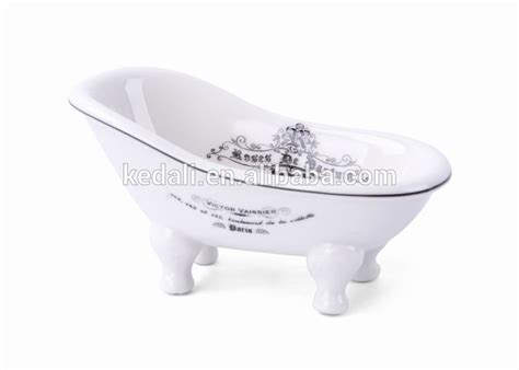 Soap Dish Shaped Like Bathtub by Decal Decorate Ceramic Bathtub Shaped Soap Dish With Drain