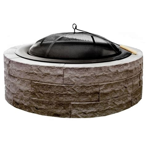 Picture Of Fire Pit Grill Insert Outdoor Goods Rumblestone Pit Grill Insert