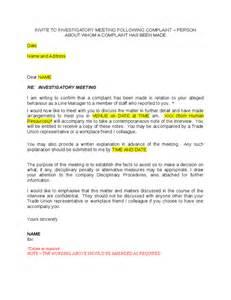 invitation to investigatory meeting hashdoc