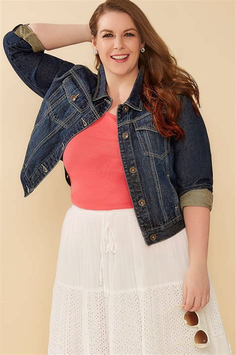 Can You Shop Online With A Visa Gift Card - indigo denim jacket with front pockets plus size 16 to 32