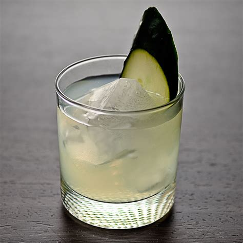 Bartenders Simple Tip Cool Warm Glasses by Cucumber Basil Lime Gimlet Cocktail Recipe