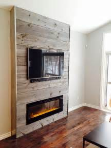 wood accent wall living room