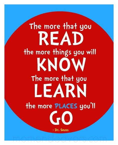 printable quotes about reading dr seuss read printable wm ideas i love pinterest