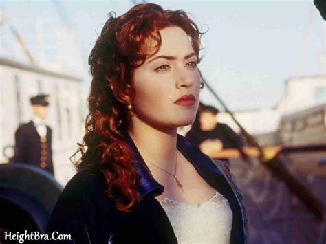 titanic film girl name kate winslet height weight bra bio figure size