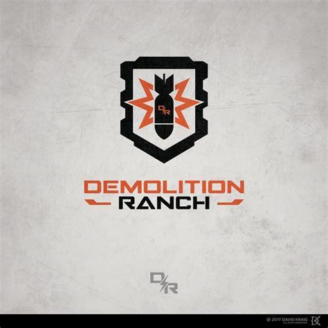 Demolition Ranch Sticker design for demolition ranch logo