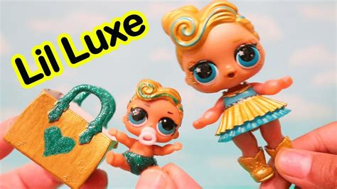 Egg Dolls Lol Anniversary Edition Glitter Serie luxe gets toys and dolls diy custom